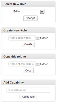 Create New User Role