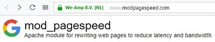 apache page speed