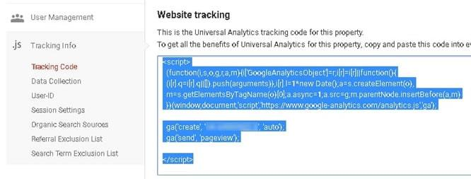 wordpress google analytics