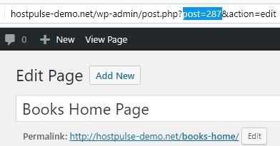 wordpress display posts on pages