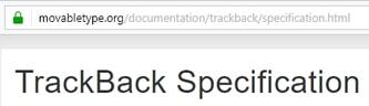 wordpress pingbacks trackbacks