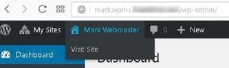 wordpress multisite user sites